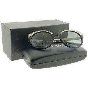 VE4330-GB1-11 Women's Black Frame Sunglasses